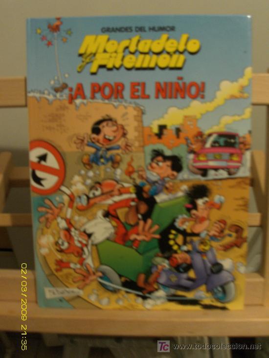 MORTADELO Y FILEMÓN -GRANDES DEL HUMOR - A POR EL NIÑO (Tebeos y Comics - Zinco - Otros)