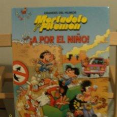 Cómics: MORTADELO Y FILEMÓN -GRANDES DEL HUMOR - A POR EL NIÑO. Lote 26580319
