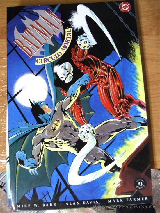 BATMAN : CIRCULO MORTAL ¡ ONE SHOT ! DC - ZINCO / MIKE W. BARR - ALAN DAVIS (Tebeos y Comics - Zinco - Batman)