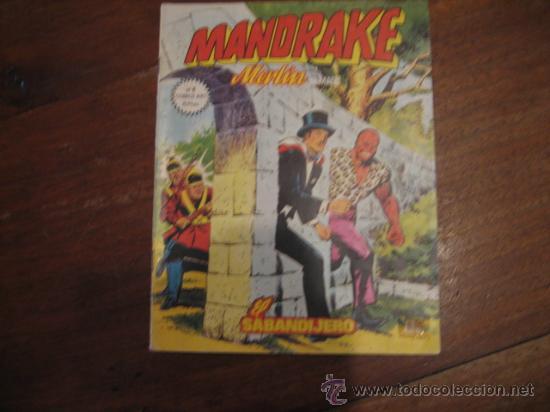MANDRAKE MERLIN EL MAGO Nº4 (Tebeos y Comics - Zinco - Otros)