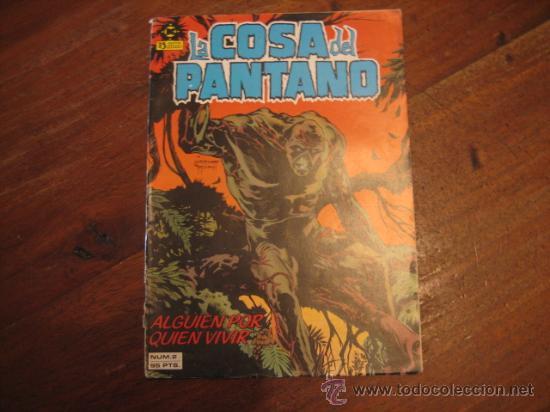 LA COSA DEL PANTANO Nº2 (Tebeos y Comics - Zinco - Cosa del Pantano)