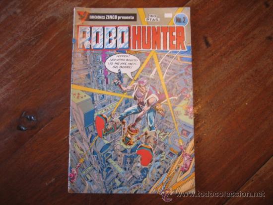 ROBOHUNTER Nº2 (Tebeos y Comics - Zinco - Otros)