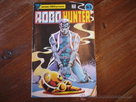 ROBOHUNTER Nº5 (Tebeos y Comics - Zinco - Otros)