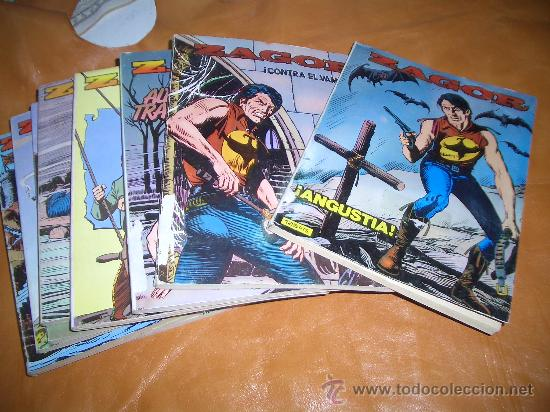 ZAGOR LOTE DEL 1 AL 10 (Tebeos y Comics - Zinco - Otros)