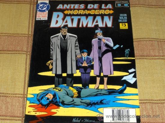 ZINCO. ANTES DE LA HORA CERO BATMAN. VOLUMEN ESPECIAL 100 PÁGINAS. 1995. 775 PTS. BUEN ESTADO. (Tebeos y Comics - Zinco - Batman)