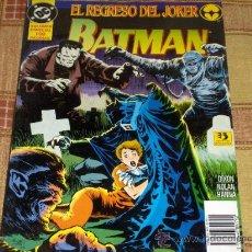 Cómics: ZINCO. EL REGRESO DEL JOKER, BATMAN. VOLUMEN ESPECIAL 100 PÁGINAS. 1994. REGALO VOL. 2 Nº 29.. Lote 12679764