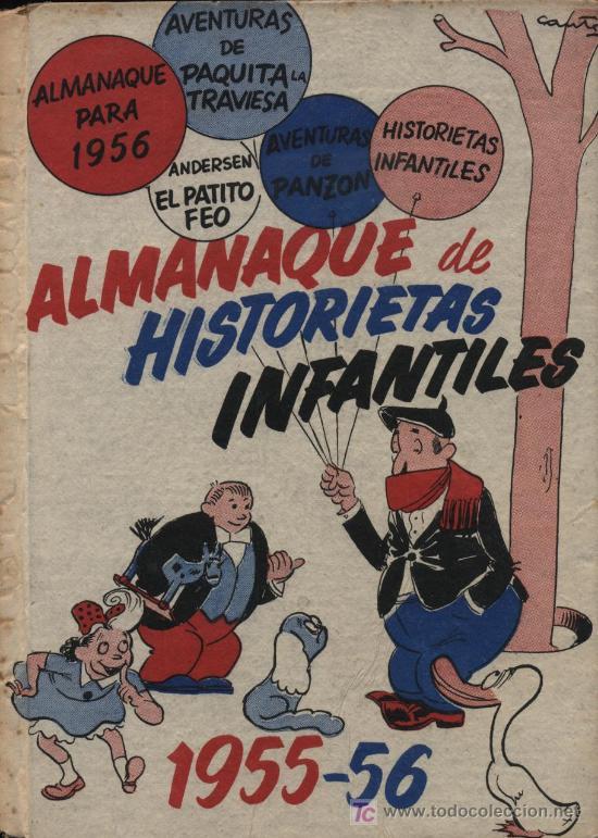 ALMANAQUE DE HISTORIETAS INFANTILES 1955-56 (Tebeos y Comics - Zinco - Otros)