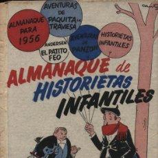 Cómics: ALMANAQUE DE HISTORIETAS INFANTILES 1955-56. Lote 21648652