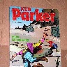 Cómics: KEN PARKER Nº 16. MAR DE HIERBA. BERARDI Y MILAZZO. EDICIONES ZINCO 1983. ++. Lote 24383201