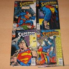 Cómics: SUPERMAN - EL HOMBRE DE ACERO -NºS 1 AL14.COMPLETA. Lote 25261212