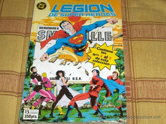 ZINCO. LEGION DE SUPERHÉROES RETAPADO Nº 1. 1987. 350 PTS. . (Tebeos y Comics - Zinco - Retapados)