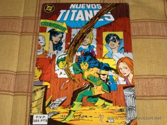 ZINCO. RETAPADO LOS NUEVOS TITANES NºS 43 AL 47. 1985. 385 PTS. REGALO Nº 11. MUY BUEN ESTADO. (Tebeos y Comics - Zinco - Retapados)