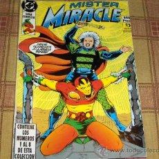Cómics: RETAPADO ZINCO MISTER MIRACLE Nº 1 CON LOS NºS 1 AL 8. 1990. 500 PTS. .. Lote 13881046