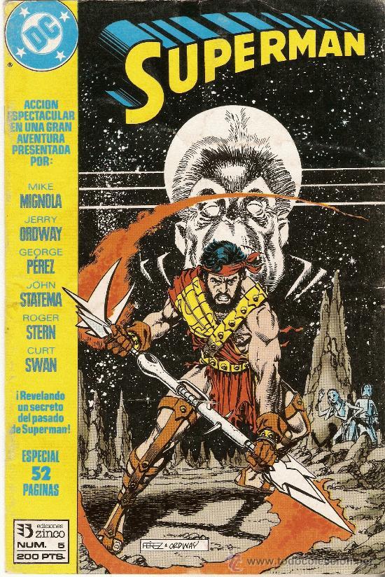 SUPERMAN - DC- Nº 5 - ESPECIAL 52 PAGINAS - AÑO 1984 (Tebeos y Comics - Zinco - Superman)