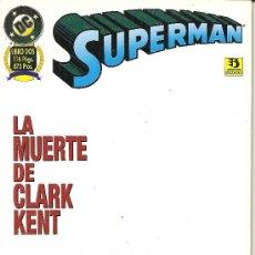 Cómics: SUPERMAN LA MUERTE DE CLARK KENT LIBRO DOS. Lote 20332943
