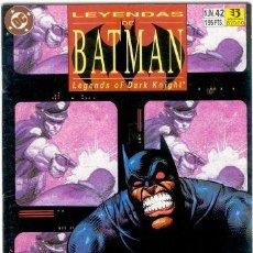 Cómics: LEYENDAS DE BATMAN Nº 42 ,DC. Lote 14515808