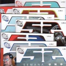 Cómics: DC COMICS 52 - LOTE DE 25 EJEMPLARES - COMICS ZINCO DC EDITADO POR PLANETA. Lote 26614758