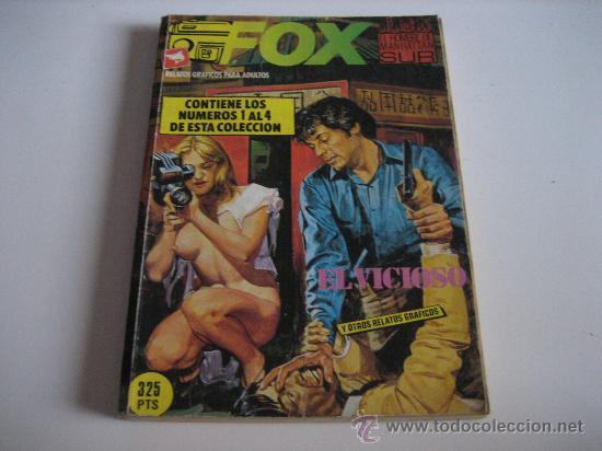 FOX - EL HOMBRE DE MANHATTAN SUR - RETAPADO NºS 1 AL 4. (Tebeos y Comics - Zinco - Retapados)