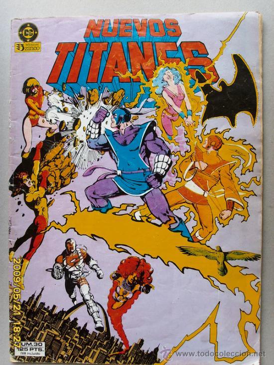 NUEVOS TITANES (Tebeos y Comics - Zinco - Nuevos Titanes)