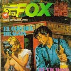 Cómics: FOX (ZINCO) ERÓTICO ORIGINAL 1987 LOTE. Lote 27012822