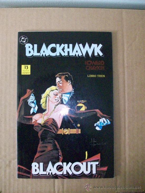 BLACKHAWK - TOMO PRESTIGIO DE ZINCO. Nº 3 DE UNA MINISERIE DE 3 NÚMEROS. (Tebeos y Comics - Zinco - Prestiges y Tomos)