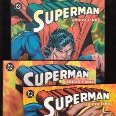 Cómics: SUPERMAN JUICIO FINAL /POR: DAN JURGENS & BRETT BREEDING - SERIE COMPLETA EN 3 EJEMPLARES. Lote 16142107