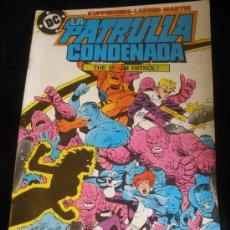 Cómics: LA PATRULLA CONDENADA. Nº 9. Lote 16474578
