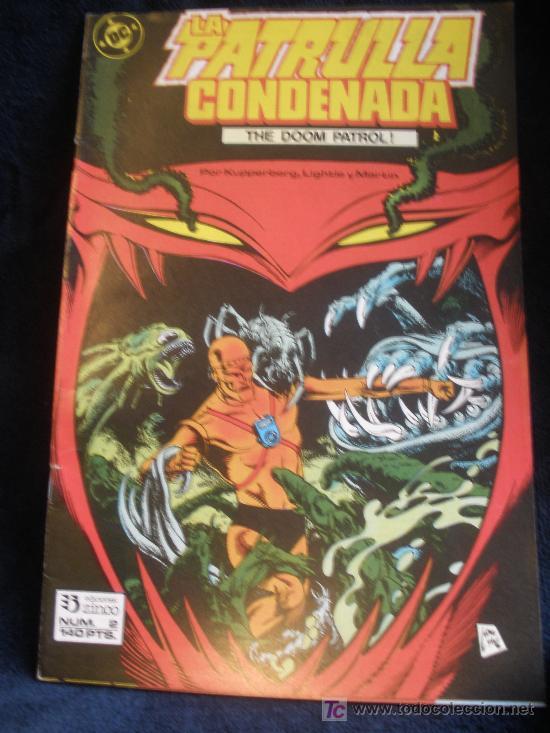 LA PATRULLA CONDENADA. Nº 2 (Tebeos y Comics - Zinco - Patrulla Condenada)