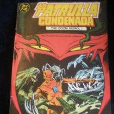 Cómics: LA PATRULLA CONDENADA. Nº 2. Lote 16474635