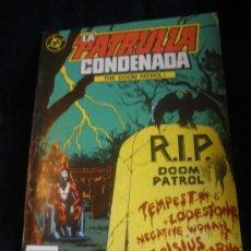 Cómics: LA PATRULLA CONDENADA. Nº 5. Lote 16474656