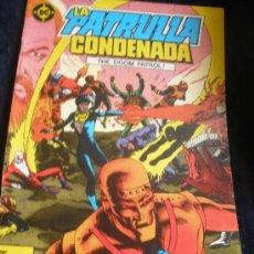 Cómics: LA PATRULLA CONDENADA. Nº 1. Lote 16474745
