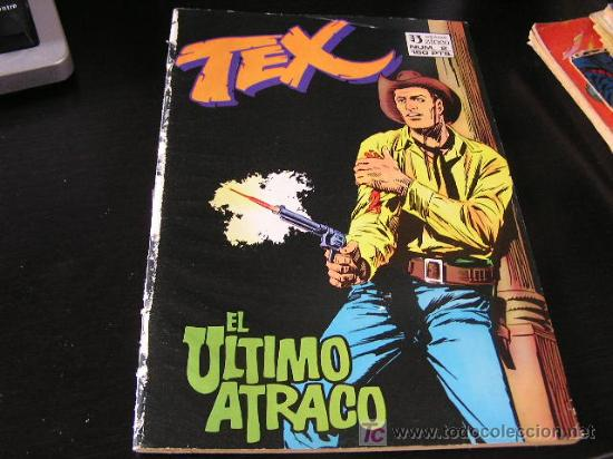 TEX Nº 2 EDICIONES ZINCO 1988 E10X3 (Tebeos y Comics - Zinco - Retapados)