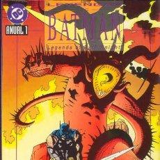 Cómics: LEYENDAS DE BATMAN ANUAL 1. DUELO. Lote 27347510