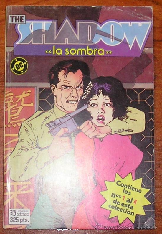 THE SHADOW REENTAPADO Nº 1 AL 4 COMPLETA (Tebeos y Comics - Zinco - Otros)
