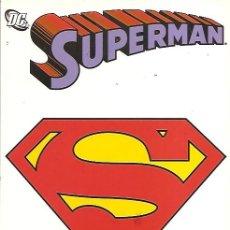 Cómics: SUPERMAN VOLUMEN 1 DE PLANETA 14 NUMEROS COLECCION COMPLETA IMPECABLES. Lote 35258720