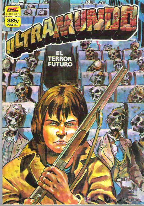 ULTRAMUNDO - RETAPADO 4 - NUMEROS DEL 5 AL 8 ** (Tebeos y Comics - Zinco - Retapados)