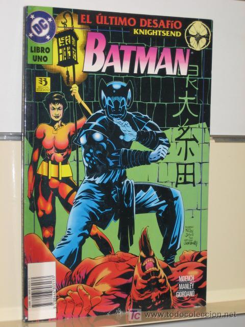 BATMAN EL ULTIMO DESAFIO Nº 1 - EDICIONES ZINCO (Tebeos y Comics - Zinco - Batman)