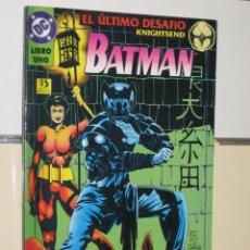 Cómics: BATMAN EL ULTIMO DESAFIO Nº 1 - EDICIONES ZINCO. Lote 209606545