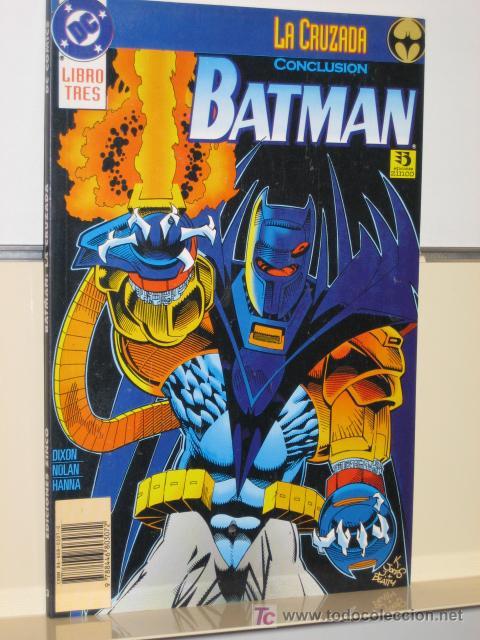BATMAN LA CRUZADA Nº 3 - EDICIONES ZINCO (Tebeos y Comics - Zinco - Batman)