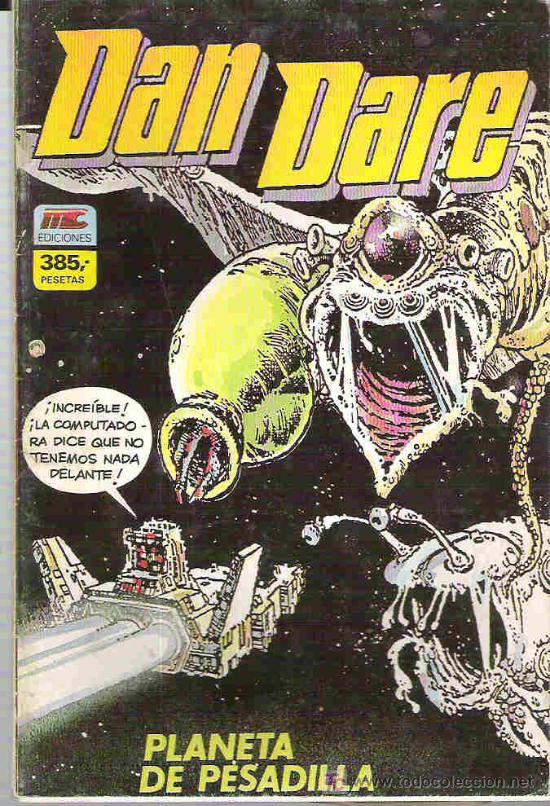 DAN DARE - PILOTO DLE FUTURO * RETAPADO 4 NUMEROS DEL 1 AL 4 *** 1987 (Tebeos y Comics - Zinco - Retapados)