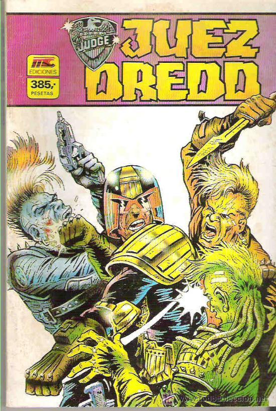 JUEZ DREDD - RETAPADO 4 NUMS DEL 9 AL 12 ** 1986 (Tebeos y Comics - Zinco - Retapados)