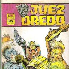 Cómics: JUEZ DREDD - RETAPADO 4 NUMS DEL 9 AL 12 ** 1986. Lote 17533191