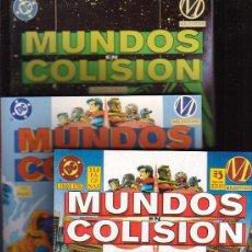 Comics: MUNDOS EN COLISION, SERIE COMPLATA EN 3 TOMOS - EDITA: EDICIONES ZINCO DC. Lote 17630079