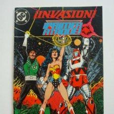 Cómics: ¡INVASIÓN! ¡PRIMER ATAQUE! Nº 2 - DC (ZINCO) 52 PÁGINAS. Lote 69314686