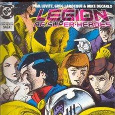 Cómics: LEGION DE SUPER HEROES. RETAPADO CON LOS NUMEROS 9 A 13. Lote 27186966