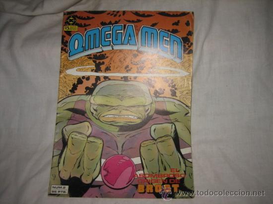 OMEGA MEN Nº 2 EL ASOMBROSO ORIGEN DE BROOT (Tebeos y Comics - Zinco - Otros)