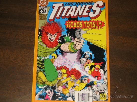 LOS NUEVOS TITANES - CAOS TOTAL VOL.2 (Tebeos y Comics - Zinco - Nuevos Titanes)