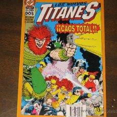 Cómics: LOS NUEVOS TITANES - CAOS TOTAL VOL.2. Lote 26472486