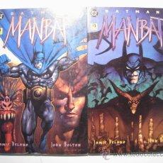Cómics: BATMAN: MANBAT - VOL. 2 Y 3 - ZINCO. Lote 18203047