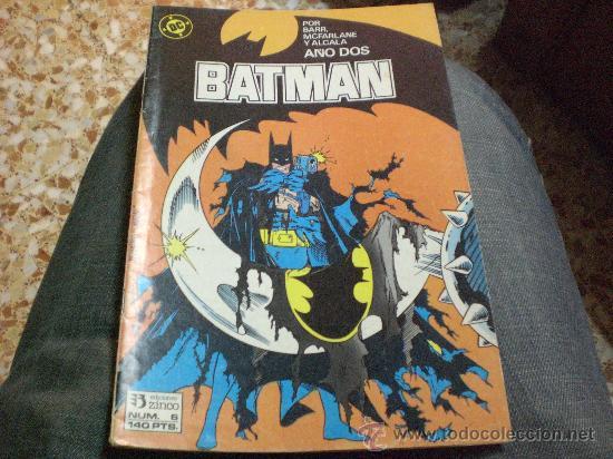 BATMAN Nº 6 POR BARR MCFARLANE Y ALCALA (Tebeos y Comics - Zinco - Batman)